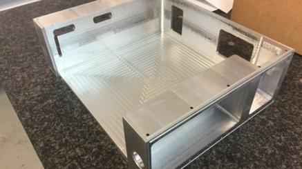 Carcasa Aluminio Mecanizada 01
